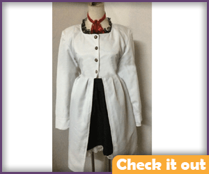 Lucy White Jacket Outfit.