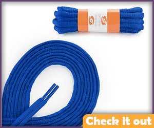 Royal Blue Shoe Laces.