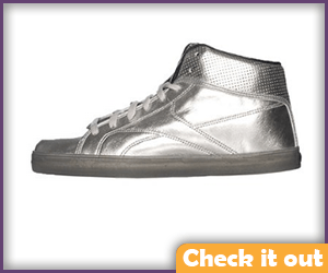 Silver Sneakers.