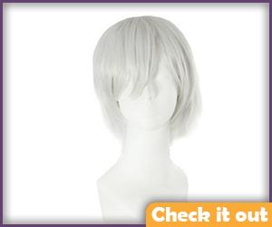 Silver Wig.