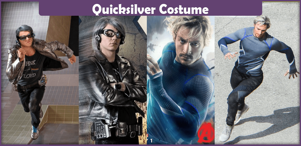 Quicksilver Costume
