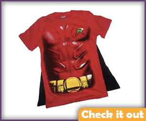 Robin Action Tee.