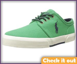 Green Sneakers.