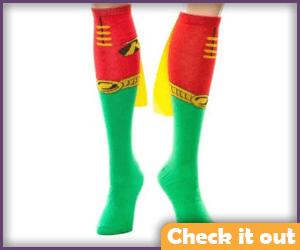Robin Socks.