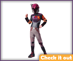 Sabine Wren Costume Child Size.