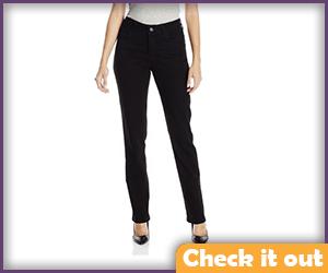 Women's Black Jeans.