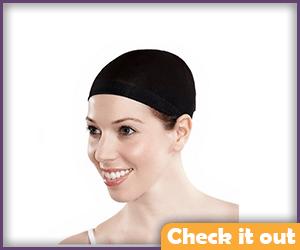 Black Wig Cap.