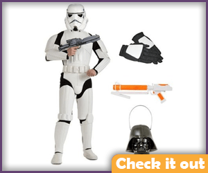 Stormtrooper Costume Deluxe Set.