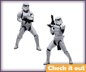 ArtFX Stormtrooper Figures.