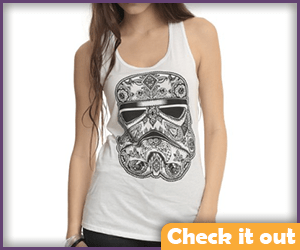 Stormtrooper Day of the Dead Tank.