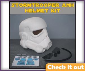 Stormtrooper Helmet DIY.