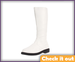 Men's Tall White Boots.