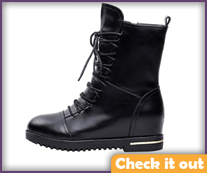 Black Female Terminator Boots.