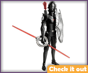 The Inquisitor Armored Figure.
