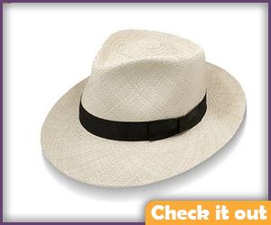 Tan Woven Hat.