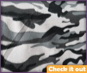 Gray Camo Fabric.