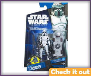 Clone Wars ARF Trooper Figure.