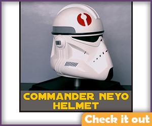 BARC Trooper Costume Neyo Helmet Complete.