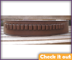 Brown Leather Gun Belt.