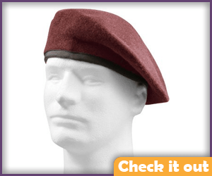 Red Beret Hat.