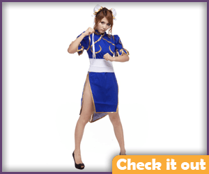 Chun-Li Costume Wing Seng Set.