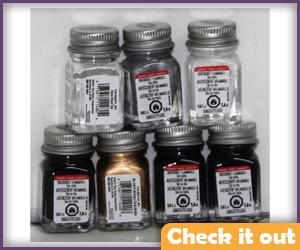 Testors Silver Paint Set.