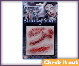 Zombie Bite Scars.