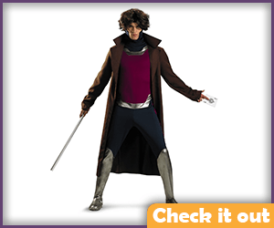 Gambit Costume Adult Set.