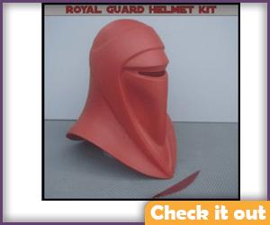 Imperial Guard Costume Helmet DIY.