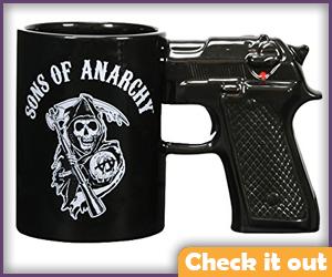 SOA Gun Mug.