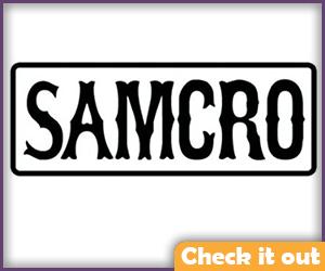 Samcro patch.