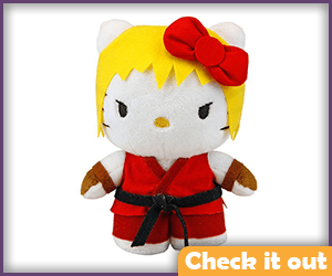 Ken Masters Hello Kitty.