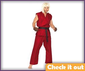 Ken Masters Costume Set.