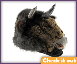 Bison Mask (just to be ironic).