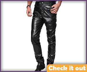 Mad Max Costume Leather Pants.