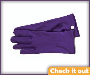 Purple Gloves.