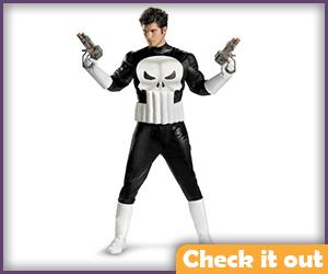 Punisher Costume Adult.