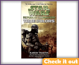 Republic Commando: True Colors, Book 3.