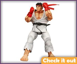 Ryu Street Fighter Figure.