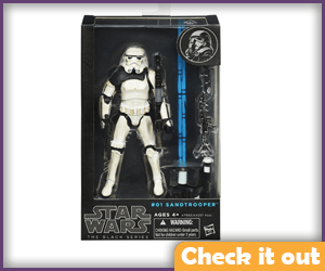 Sandtrooper Black Series Figure.