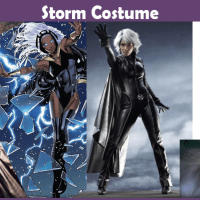 Storm Costume - A DIY Guide