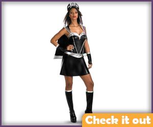 Storm Costume Skirt Set.