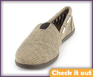 Tan Wrap Shoes (Mult. Sizes).