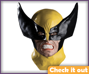 Wolverine Costume Latex Mask.