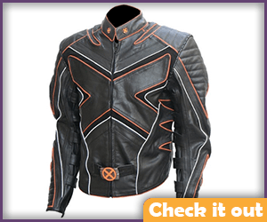 Orange Stripe X-Men Jacket.