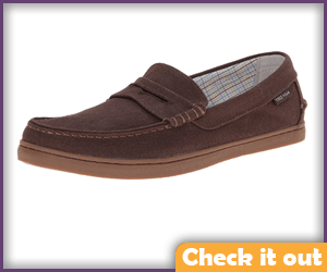 Brown Loafers.