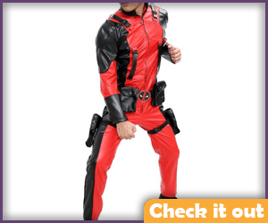 Ant-Man Costume Body Suit.