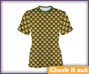Gold Scale Tee.