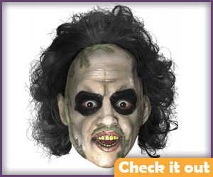 Beetlejuice Costume Mask.