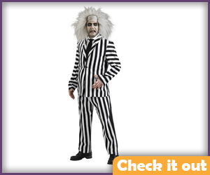 Beetlejuice Costume Set.